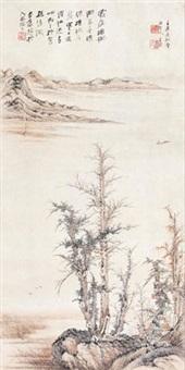 秋山红树 by jiang jian