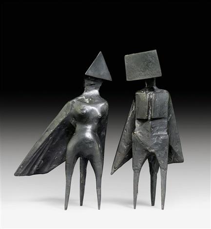 maquette iii 2 works by lynn chadwick
