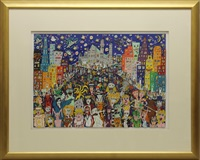 halloween in the usa by james rizzi