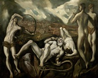laocoon (after el greco) by max rappaport