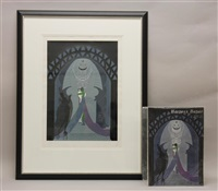 lovers & idol by erté