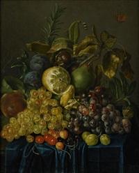 fruktstilleben by johann daniel bager