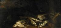 fiskstilleben by isaac van duynen