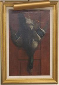 hanging mallard by ben austrian