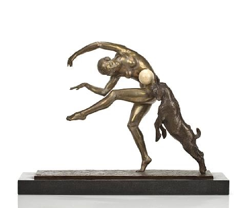 dancer with goat by alexandre morlon