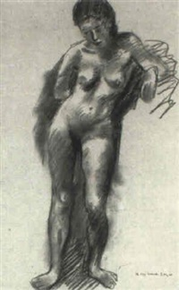 female nude by frances avery