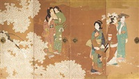 cherry blossom viewing by japanese school-nihonga (20)