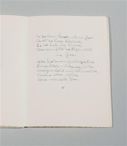 Zwölf Gedichte By Hermann Hesse On Artnet
