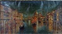 waterway in venice by w. livingston anderson