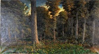 woodland interior by w. livingston anderson