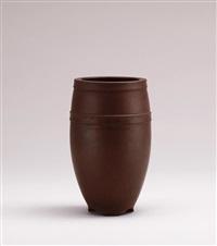 high footed pot by xu hantang
