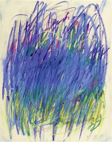 ohne titel diptych by joan mitchell