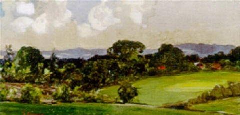 extensive landscape by james peter quinn