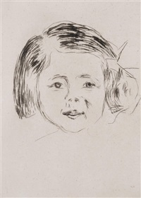 herbert esche's daughter by edvard munch
