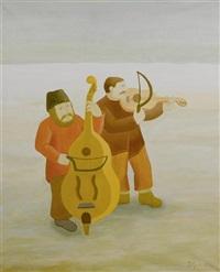 deux musiciens by ivan generalic
