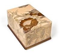 a tebako (accessory box) by utagawa reimei