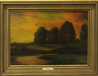 landscape by frederic edwin church