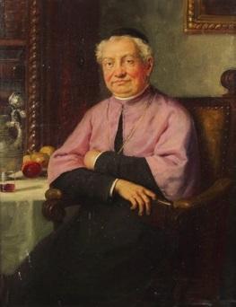 kardinal in der stube by josef wagner hohenberg