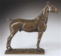 stehendes pferd by pierre nicolas turgenov