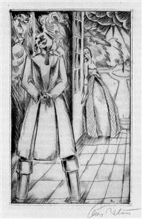 die bettlerin vom pont des arts (bk by wilhelm hauff w/11 works and justif.) by carl johann rabus