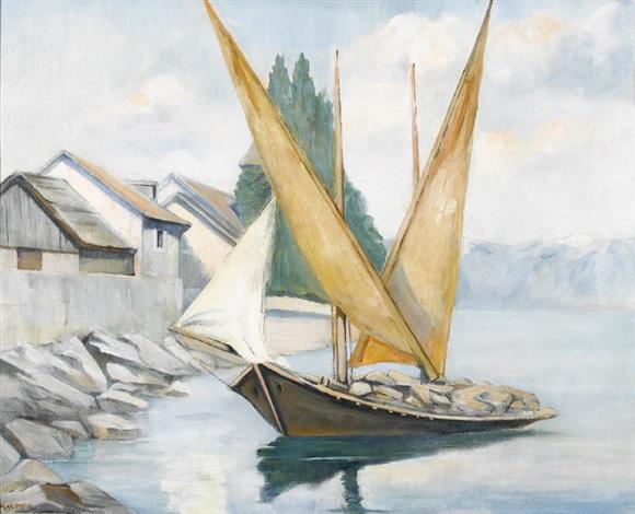 barque du léman by max droz