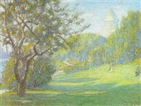 an afternoon in the park by charles pickering townsley