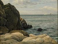 klippor och hav by berndt adolf lindholm