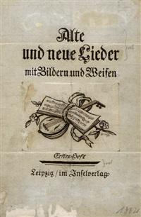 einbandentwürfe (c.100 works) by emil rudolf weiss
