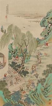 百子图 by xu yuanfang