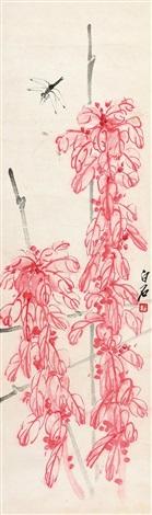 花卉 (一轴) by qi baishi