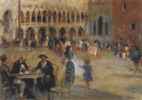 venedig - piazza san marco by giuseppe maldarelli