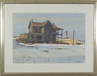 victorian house on jersey shore by paul remmey