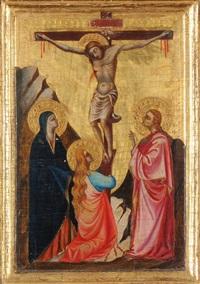 kreuzigung christi by lorenzo (piero di giovanni) monaco