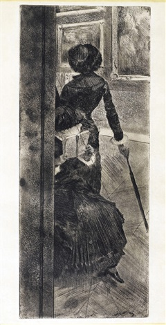 au louvre la peinture mary cassatt by edgar degas
