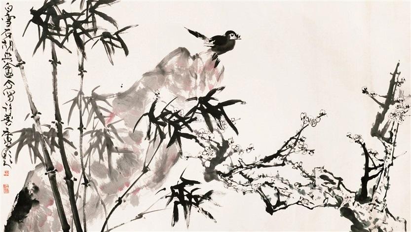 国画 by hu shuangan xu linlu and bai xueshi