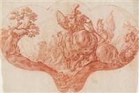 alexander der grosse in der schlacht von granicus by martino altomonte