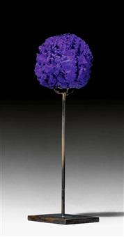 ohne titel (eponge bleue) by yves klein