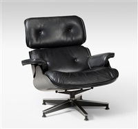 Lounge Sessel Modell Nr. 670., 1956. Charles And Ray Eames