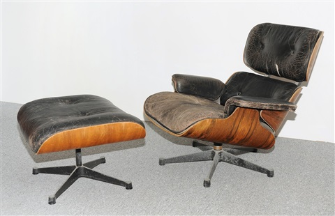 Wunderbar Lounge Sessel Und Ottoman Modell Nr. 670 By Charles And Ray Eames