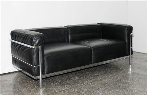Superbe Sofa Grand Confort Lc3, Zweisitzer By Le Corbusier, Charlotte Perriand And  Pierre Jeanneret