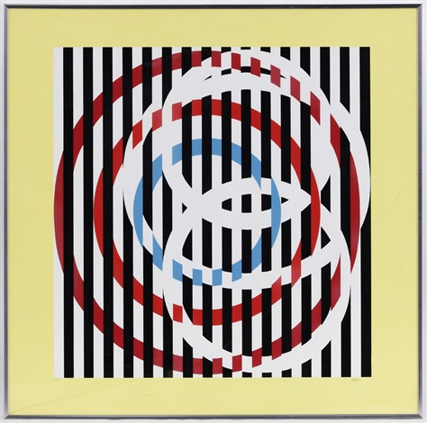 compositions set of 5 by yaacov agam