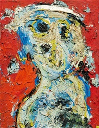 fille by karel appel