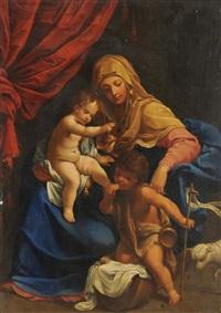 maria mit jeususkind und johannesknabe by anonymous-italian-bolognese (18)