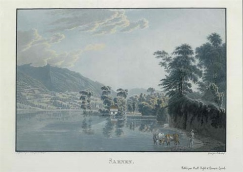 obwalden from les lacs de la suisse after johann jacob wetzel by conrad caspar rordorf