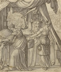 judith mit dem haupt des holofernes by anonymous-dutch (16)