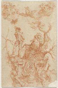 sanguinia (+ melancholia; 2 works) by johann evangelist holzer