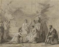 die geburt des königs von rom by pierre nicolas legrand de lérant