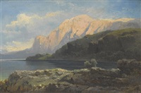 berg am attersee by carl haunold