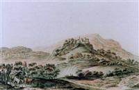 vue du chateau de regensperg dabs le canton de zurich by heinrich freudweiler