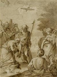 die taufe christi by hans von aachen